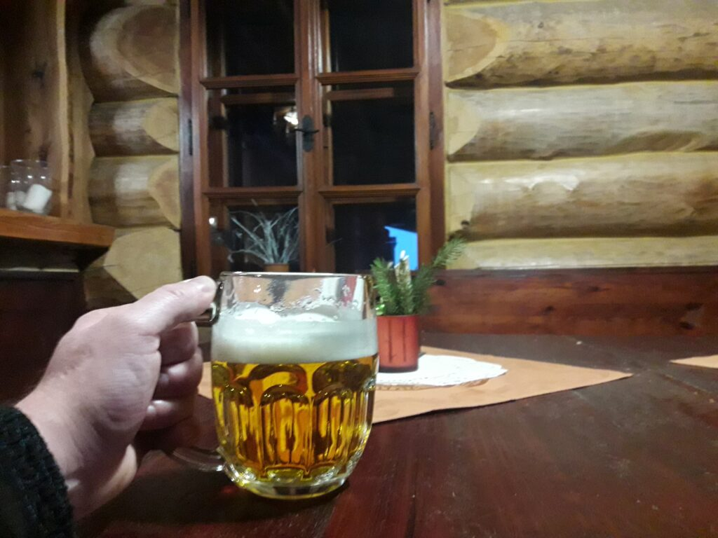 Restaurace horské sruby Haida České Petrovice