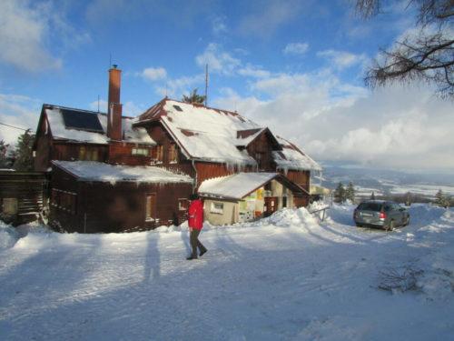 Ubytování na Kašparově chatě