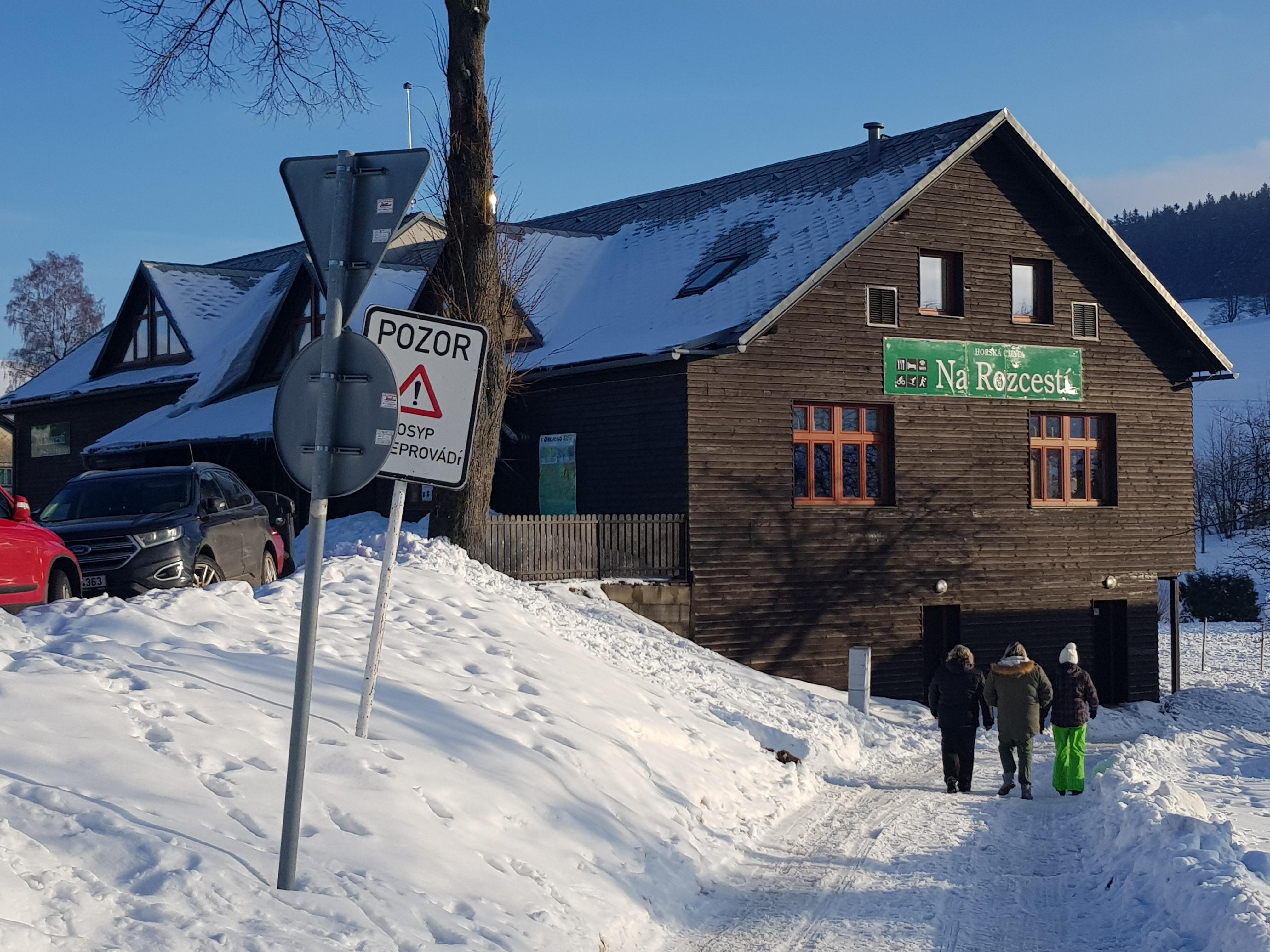 Horské chaty v Českých Petrovicích